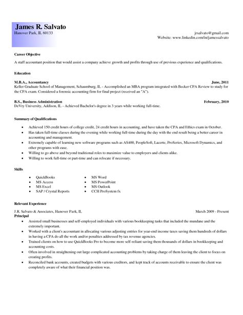 accountant objective for resume entry level accountant cover letter resume for accounting