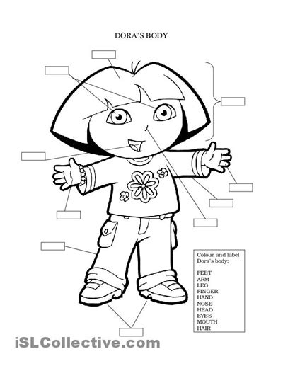 human body coloring pages for kindergarten 14 best images of e worksheets for preschoolers letter w