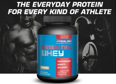 Suplemen Wpc prolab essential whey protein suplemen fitness pemula