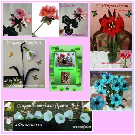 non fiori all uncinetto 99 best images about manuali per realizzare i fiori all