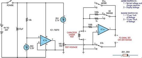 capacitor timing diagram capacitor leakage adaptor for dmms eeweb community