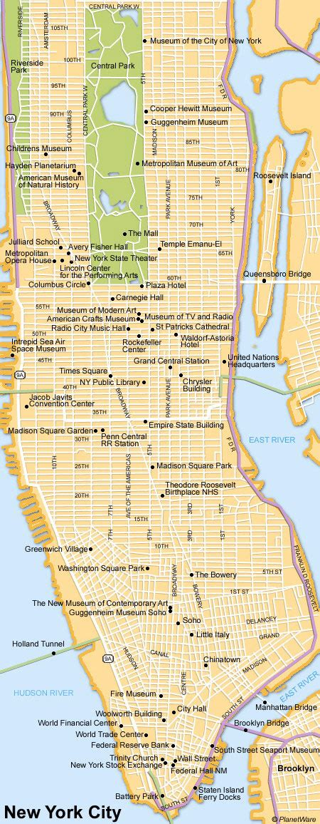 sightseeing map of new york 20 top tourist attractions in new york city the