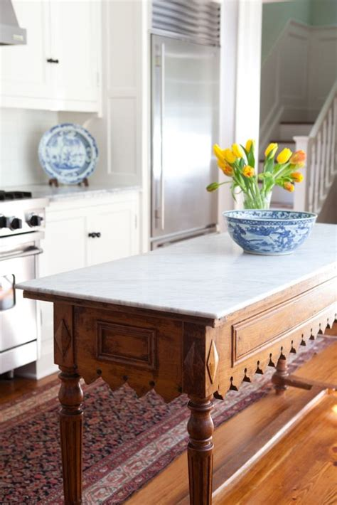 marble kitchen island table 4 tips and 30 ideas to spruce up your kitchen digsdigs