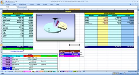 split expenses spreadsheet examples excel budget personal budgeting