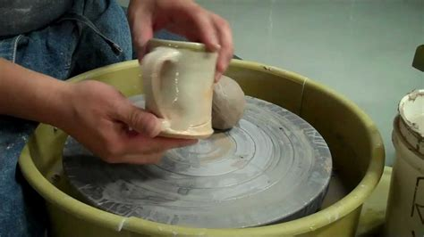 what to make with how to make a mug out of clay on the potters wheel