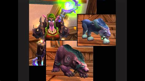 druid colors world of warcraft druid form colors