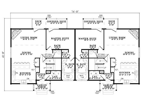 twin home floor plans plan 025m 0065 find unique house plans home plans and