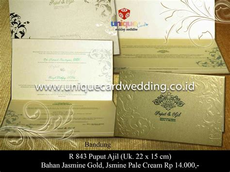 Wedding Undangan by Wedding Invitation In Indonesia Unique Card Wedding