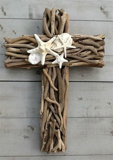 Crosses Home Decor by 15 Driftwood Crafts Sand And Sisal