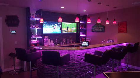 home bar lighting led strip lighting tech homesolutions com