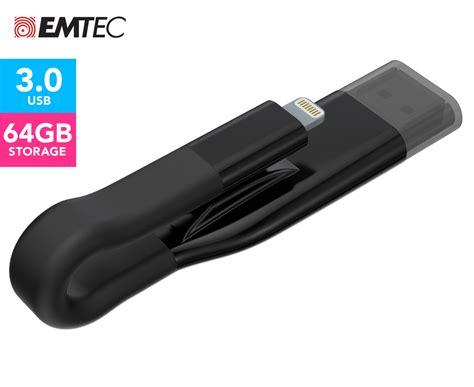 Gmobi Istick Pro 3 In 1 Micro Lightning Usb 3 0 64gb Gray emtec icobra2 usb 3 0 2 in 1 64gb flash drive black ebay
