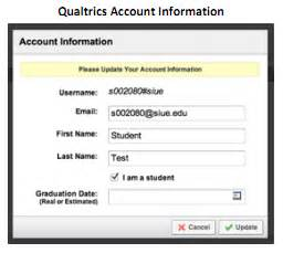 siue it help desk qualtrics how to create an account