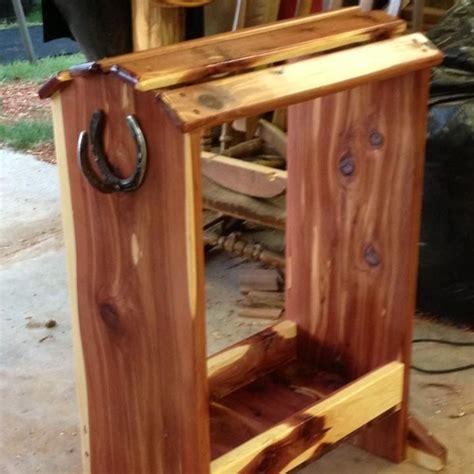 cedar saddle rack saddle rack saddle racks saddle