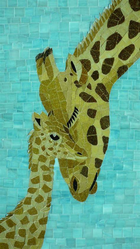 Mosaic Giraffe Pattern | giraffe mosaic phoebe s mosaic flickr