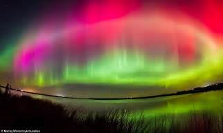 Time Lights by Stunning Of The Northern Lights Borealis In