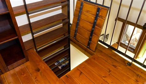 Tiny House Murphy Bed by 200 Sq Ft Zen In Tiny House With Murphy Bed In The Loft