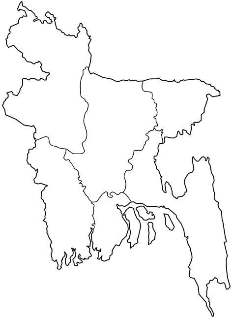 coloring page of bangladesh map file bangladesh divisions blank png wikimedia commons