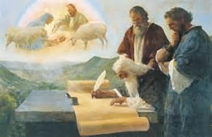 isaiah writes of christ s birth the prophet isaiah