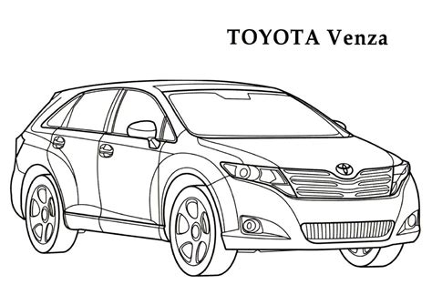 coloring pages toyota cars toyota wallpapercraft