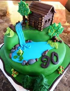 log cabin cake birthday cakes cake ideas
