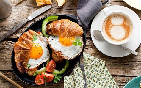 coffee breakfast wallpaper breakfast food bread fried eggs tomato coffee