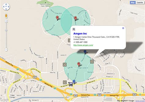 amgen thousand oaks cus map thousand oaks route expansion data advanced gis web gis