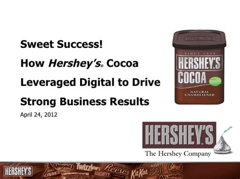 hershey powerpoint template sweet success hershey s leverages multi channel digital