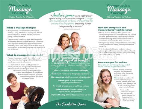 chiropractic brochures template brochure trifold brochure