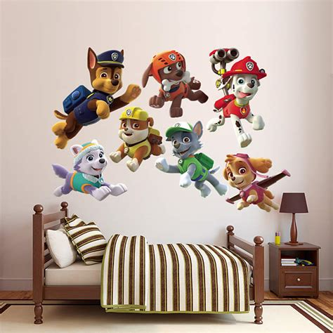 Paw Patrol Room Decor Paw Patrol Puppies Collection Wall Decal Shop Fathead 174 For Paw Patrol Decor