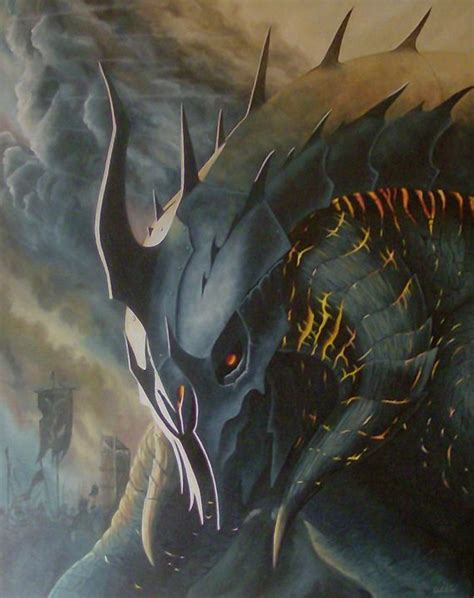 gothmog the balrog king acote paintings amp prints
