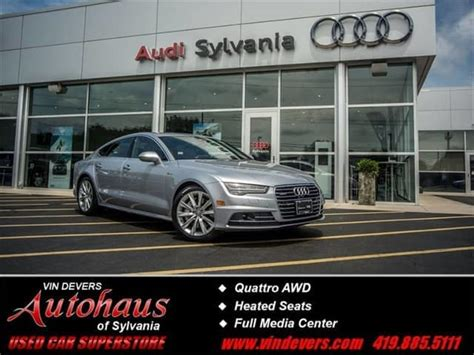 Certified Pre Owned Audi A7 by Luxury Used Cars For Sale At Vin Devers Autohaus Of Sylvania