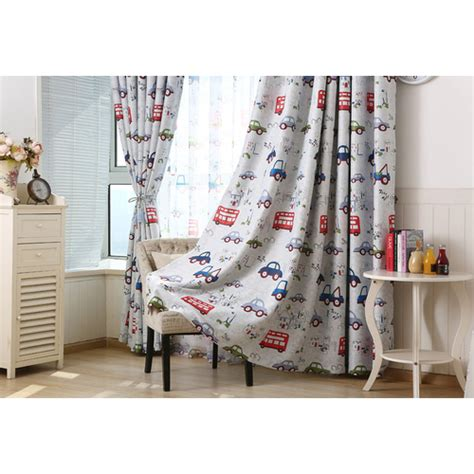 blackout curtains childrens bedroom top bedroom blackout curtains cartoon cars drapes children
