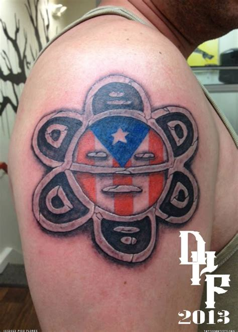 puerto rican flag tattoo design tattoos hd wallpapers