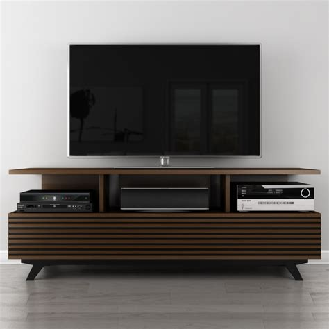 modern tv console furnitech av 70 quot mid century modern tv stand