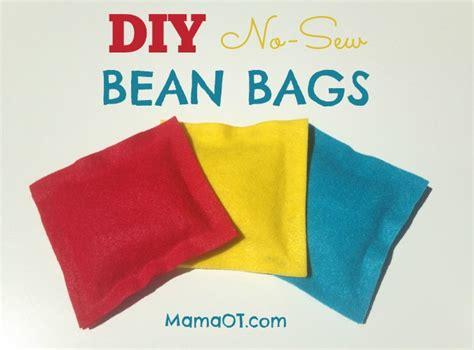 how to build a bean bag diy no sew bean bags