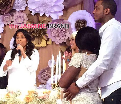 lisa raye boyfriend 2014 lisa raye lil kim baby shower 2014 the jasmine brand jpg