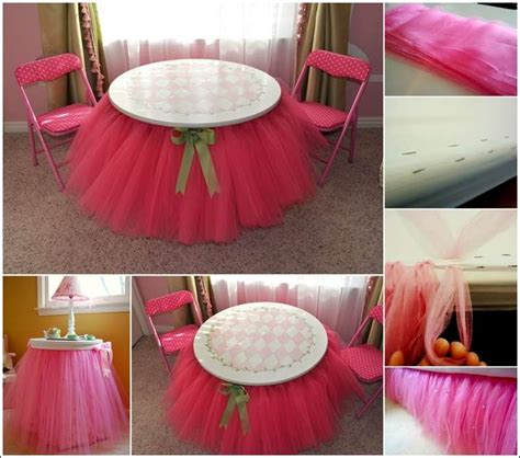diy tutu skirt tutorial for your bed and table