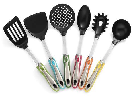 colorful kitchen utensils kitchen utensils with holder 7 pc utensil set