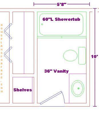 Bathroom Floor Planner Free Free Bathroom Plan Design Ideas Bathroom Design 5 8 Quot X10
