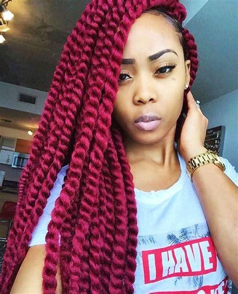 seamlangse twist crochet hair 1000 ideas about burgundy box braids on pinterest box