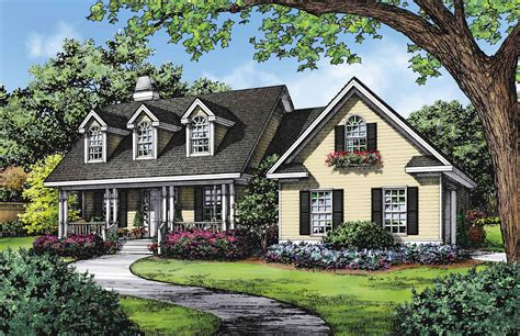 cape cod house design dream home plans the classic cape cod houseplansblog