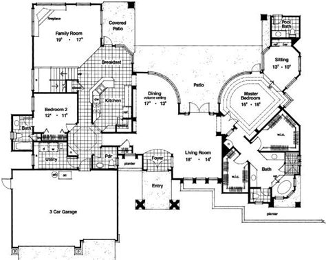 3200 Sq Ft House Plans Traditional Style House Plan 4 Beds 3 5 Baths 3200 Sq Ft Plan 417 369