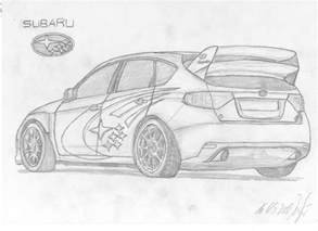 Subaru Drawing How To Draw A Subaru Step By Step With Images