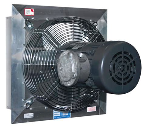 explosion proof exhaust fan hvacquick canarm leader fan series ax explosion proof fans