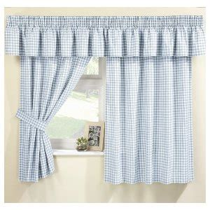 blue gingham curtains maisy blue gingham curtain set pelmet sold separte net