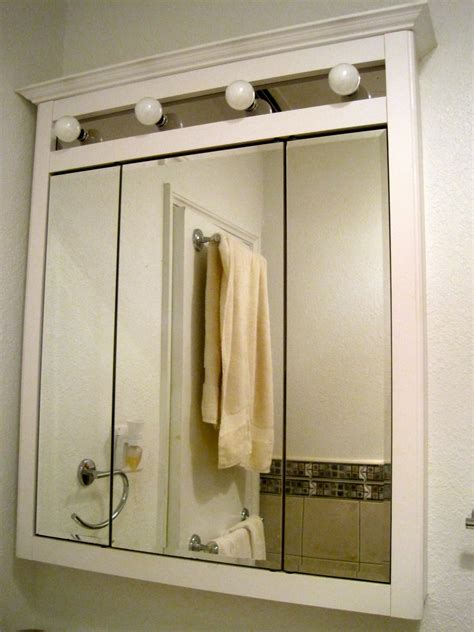 wall cabinet with mirror for bathroom in wall medicine cabinet ideas homesfeed