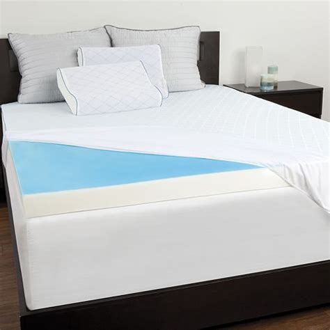 Posturepedic Mattress Topper by Sealy 3 Inch Cooling Gel Memory Foam Topper W