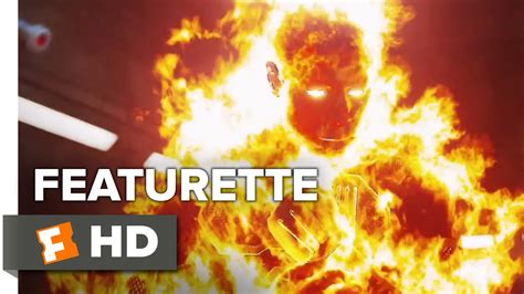 Baju Human Torch Fantastic Four fantastic four featurette the human torch 2015