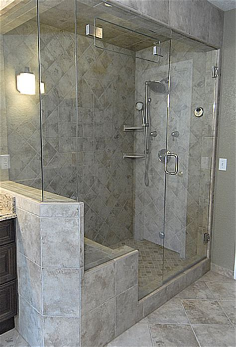 how to add a shower to a small bathroom add a steam shower to your master bathroom granitech