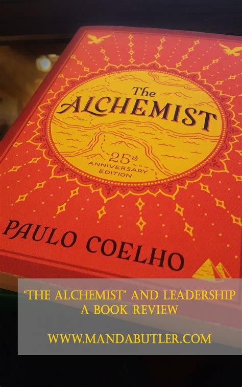 The Alchemists the alchemist and leadership a book review before the